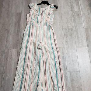 June & Hudson pastel frills jumpsuit